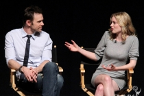 Joel McHale and Gillian Jacobs at An Evening With Community
