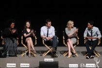 Yvette Nicole Brown, Alison Brie, Joel McHale, Gillian Jacobs and Danny Pudi at An Evening With Community
