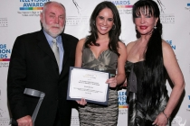 Robert David Hall, Haley Lesavoy and Loreen Arbus at the 31st College Television Awards