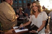 Jessalyn Gilsig at An Evening With Glee
