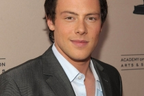Cory Monteith at An Evening With Glee