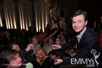 Chris Colfer at An Evening With Glee