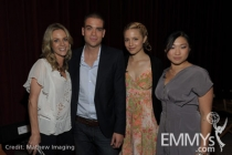 Jessalyn Gilsig, Mark Salling, Dianna Agron and Jenna Ushkowitz at An Evening With Glee