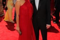 Jenna Ushkowitz and Kevin McHale at the 62nd Primetime Emmy Awards