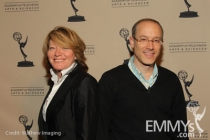 Brooke Kennedy and David Zucker at An Evening With The Good Wife
