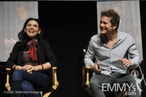 Julianna Margulies and Matt Czuchry at An Evening With The Good Wife