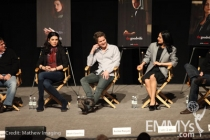 Julianna Margulies, Matt Czuchry and Archie Panjabi at An Evening With The Good Wife