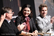 Robert King, Julianna Margulies and Matt Czuchry at An Evening With The Good Wife