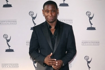 David Harewood arrives at an Evening with Homeland