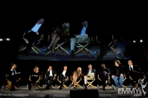 Claire Danes, Damian Lewis, Howard Gordon, Alex Gansa, Brian Lowry, Meredith Stiehm, David Harewood, Henry Bromell, Sean Callery