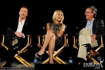 Claire Danes, Damian Lewis and Alex Gansa participate in an Evening with Homeland