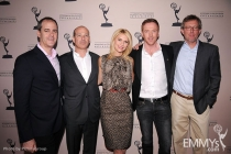 Claire Danes, Damian Lewis, David Nevins, Howard Gordon and Alex Gansa arrive at an Evening with Homeland