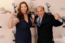 Courtney Ellinger, Dave Bryan at the LA Area Regional Emmys