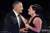 Stephen Solomon, Mary Harris at the LA Area Regional Emmys