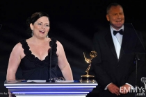 Mary Harris at the LA Area Regional Emmys