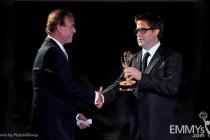 David Goldstein, Greg Taylor at the LA Area Regional Emmys