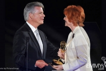 Chuck Henry, Stephanie Edwards at the LA Area Regional Emmys