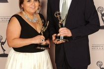 Rebecca Nieto, Robert Kovacik at the LA Area Regional Emmys