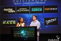 Kerry Washington and Jimmy Kimmel announce the Outstanding Reality Competition Program Nominees