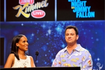 Kerry Washington and Jimmy Kimmel announce the Outstanding Variety, Music, Or Comedy Series Nominees