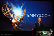 Alan Perris speaks onstage at the 64th Primetime Emmy Awards Nominations
