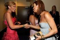 Actresses Toni Collette and Kate Walsh