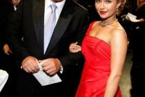 Actors Alec Baldwin and Hayden Panettiere