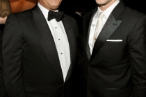 Actors Tom Hanks and Justin Timberlake