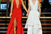 Blake Lively and Leighton Meester onstage at the 61st Primetime Emmy Awards