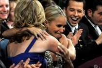 Actresses Kristin Chenoweth and Jon Cryer