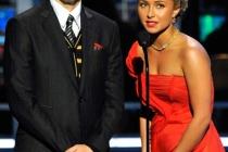 Presenters Jon Cryer and Hayden Panettiere