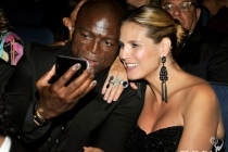 Singer Seal and wife Heidi Klum
