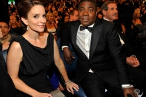 Actors Tina Fey and Tracy Morgan