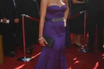 Dexter co-star Julie Benz at the 60th Primetime Emmy Awards