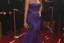 Dexter co-star Julie Benz at the 60th Primetime Emmy Awards
