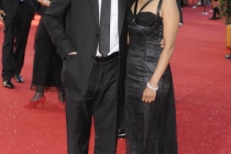 In Treatment star Gabriel Byrne with guest Anna George at the 60th Primetime Emmy Awards