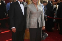Boston Legal co-star Candice Bergen with husband Marshall Rose arrives at the 60th Primetime Emmy Awards