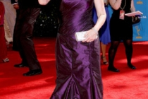 Jane Lynch arrives at the 62nd Annual Primetime Emmy Awards held at the Nokia Theatre