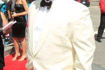 Actor Craig Robinson arrives at the 62nd Annual Primetime Emmy Awards held at the Nokia Theatre