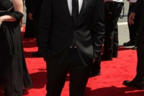 Actor Chris Colfer arrives at the 62nd Annual Primetime Emmy Awards held at the Nokia Theatre