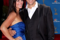 Henry Ian Cusick and wife, Annie