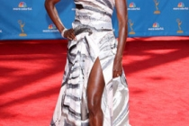 Rutina Wesley arrives at the 62nd Annual Primetime Emmy Awards held at the Nokia Theatre