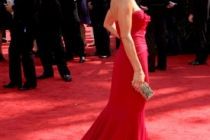 Jessalyn Gilsig arrives at the 62nd Annual Primetime Emmy Awards held at the Nokia Theatre
