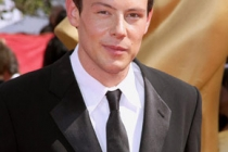 Cory Monteith arrives at the 62nd Annual Primetime Emmy Awards held at the Nokia Theatre