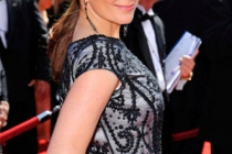 Actress Tina Fey arrives at the 62nd Annual Primetime Emmy Awards held at the Nokia Theatre