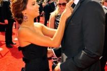 Actress Eva Longoria Parker and NBA player Tony Parker