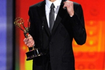 Actor Jim Parsons accepts his award onstage at the 62nd Annual Primetime Emmy Awards held at the Nokia Theatre