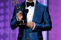 Writer Ryan Murphy accepts his award onstage at the 62nd Annual Primetime Emmy Awards held at the Nokia Theatre