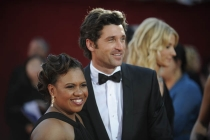 Red Carpet & Greenroom - Chandra Wilson & Patrick Dempsey