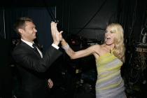 Red Carpet & Greenroom -  Ryan Seacrest & Heidi Klum